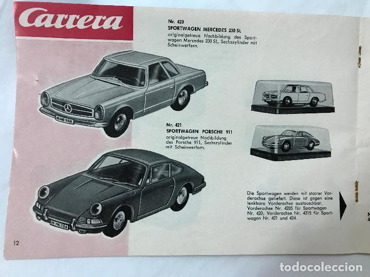 Juguetes antiguos: CARRERA CATALOGO DE 1965, 26 PAGINAS TEXTO EN ALEMAN, TIPO SCALEXTRIC - Foto 13 - 97204331