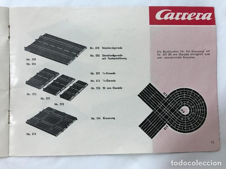 Juguetes antiguos: CARRERA CATALOGO DE 1965, 26 PAGINAS TEXTO EN ALEMAN, TIPO SCALEXTRIC - Foto 16 - 97204331