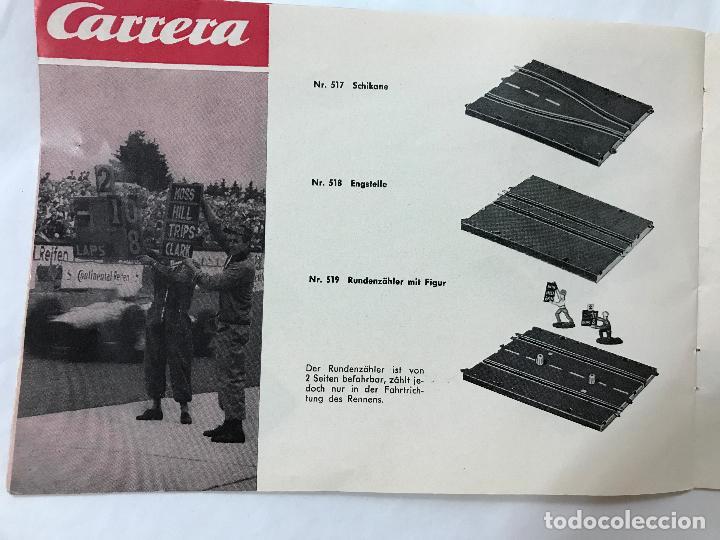 Juguetes antiguos: CARRERA CATALOGO DE 1965, 26 PAGINAS TEXTO EN ALEMAN, TIPO SCALEXTRIC - Foto 17 - 97204331