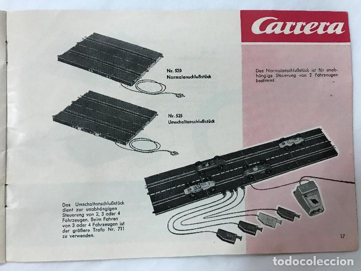 Juguetes antiguos: CARRERA CATALOGO DE 1965, 26 PAGINAS TEXTO EN ALEMAN, TIPO SCALEXTRIC - Foto 18 - 97204331