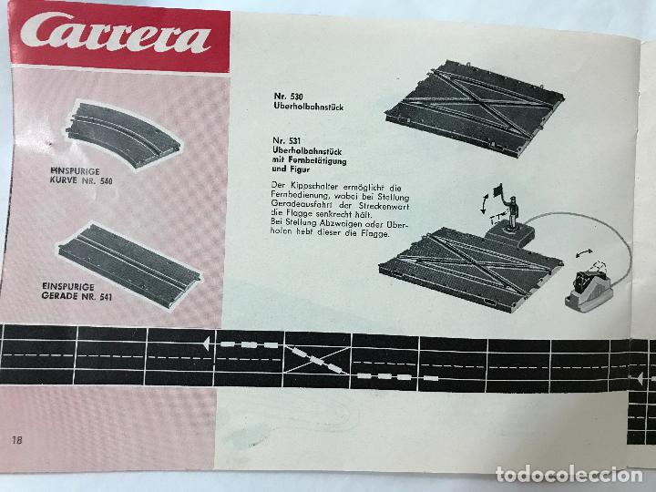 Juguetes antiguos: CARRERA CATALOGO DE 1965, 26 PAGINAS TEXTO EN ALEMAN, TIPO SCALEXTRIC - Foto 19 - 97204331