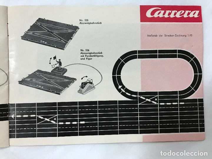 Juguetes antiguos: CARRERA CATALOGO DE 1965, 26 PAGINAS TEXTO EN ALEMAN, TIPO SCALEXTRIC - Foto 20 - 97204331