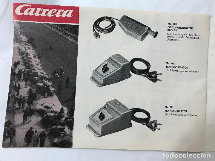 Juguetes antiguos: CARRERA CATALOGO DE 1965, 26 PAGINAS TEXTO EN ALEMAN, TIPO SCALEXTRIC - Foto 21 - 97204331