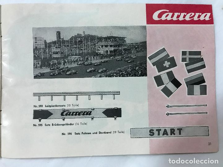 Juguetes antiguos: CARRERA CATALOGO DE 1965, 26 PAGINAS TEXTO EN ALEMAN, TIPO SCALEXTRIC - Foto 23 - 97204331