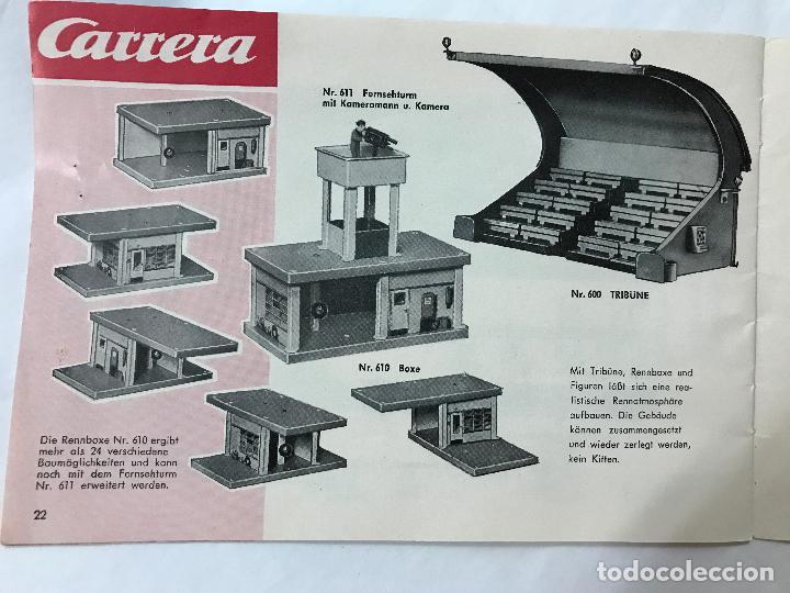 Juguetes antiguos: CARRERA CATALOGO DE 1965, 26 PAGINAS TEXTO EN ALEMAN, TIPO SCALEXTRIC - Foto 24 - 97204331