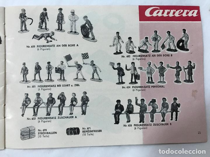 Juguetes antiguos: CARRERA CATALOGO DE 1965, 26 PAGINAS TEXTO EN ALEMAN, TIPO SCALEXTRIC - Foto 25 - 97204331