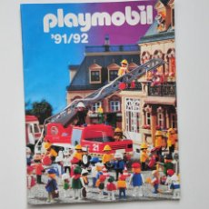 Juguetes antiguos: CATALOGO DE PLAYMOBIL 91-92 DE 36 PAGINAS Y 199 REFERENCIAS. Lote 97621663