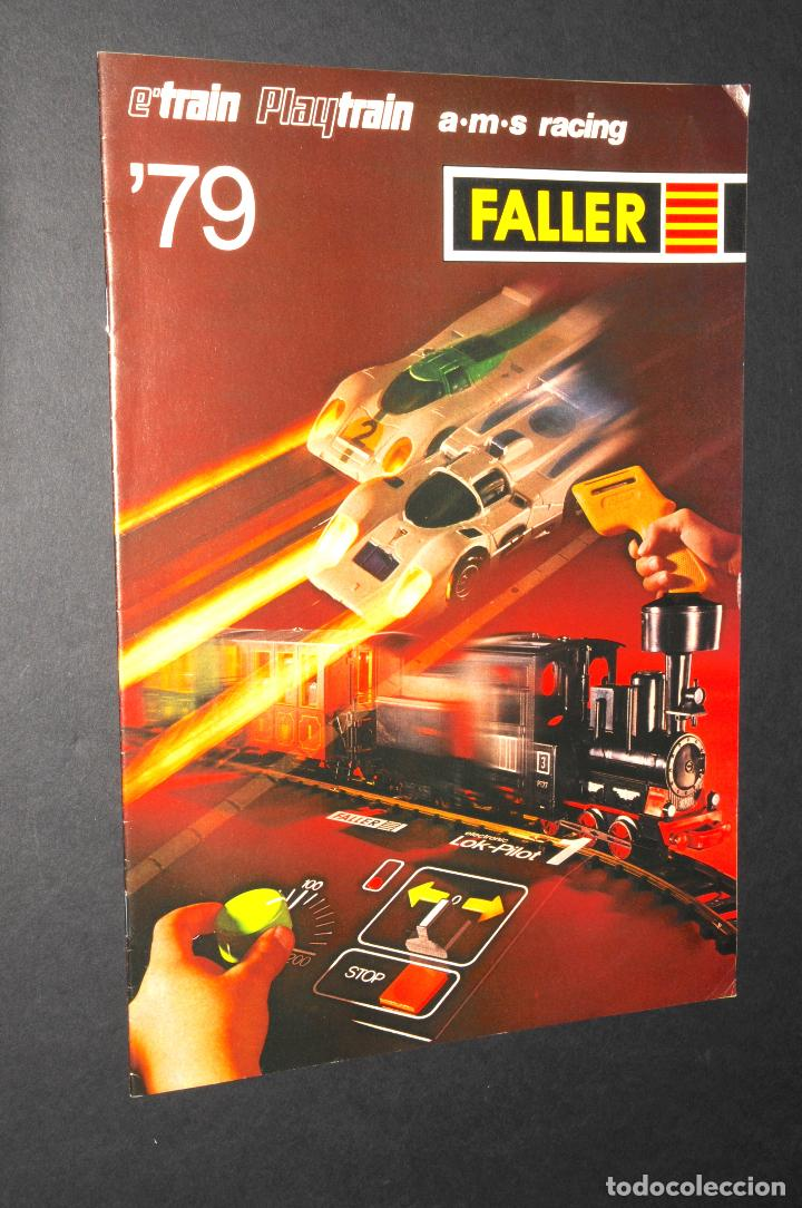 REVISTA - CATALOGO FALLER - PLAYTRAIN - AÑO 1979 - IDIOMA EN ALEMÁN (Juguetes - Catálogos y Revistas de Juguetes)