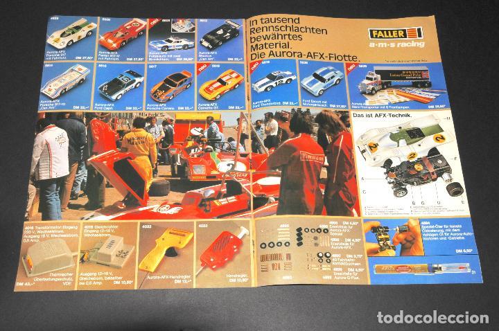 Juguetes antiguos: REVISTA - CATALOGO FALLER - PLAYTRAIN - AÑO 1979 - IDIOMA EN ALEMÁN - Foto 3 - 97782571