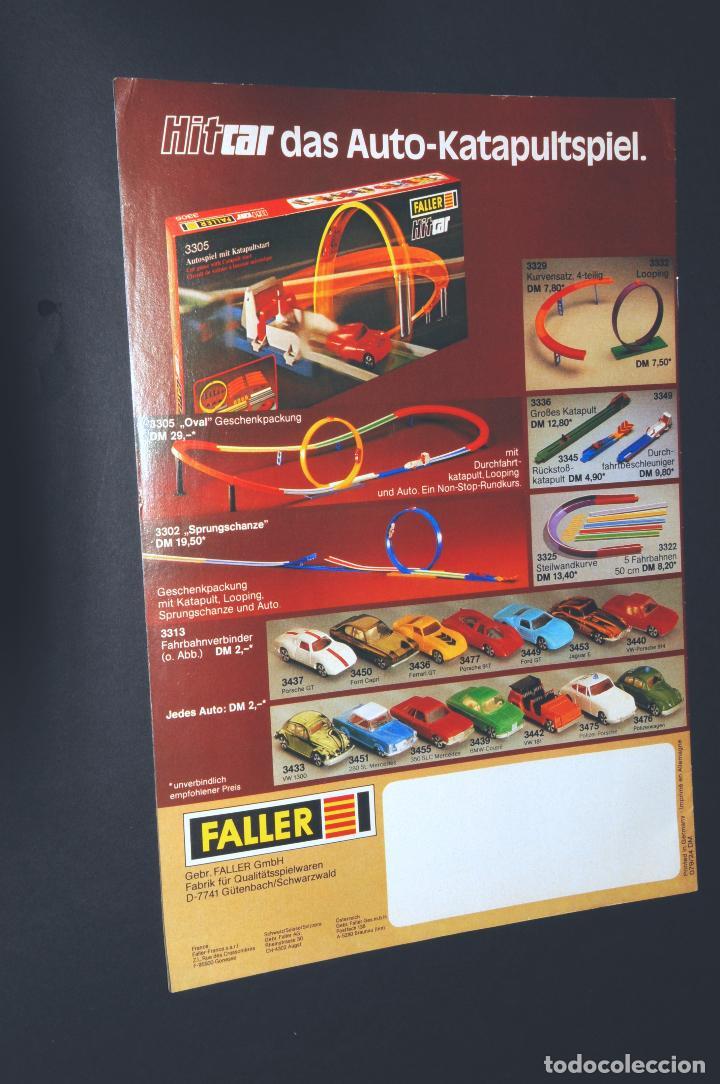 Juguetes antiguos: REVISTA - CATALOGO FALLER - PLAYTRAIN - AÑO 1979 - IDIOMA EN ALEMÁN - Foto 4 - 97782571