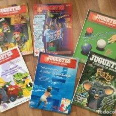 Juguetes antiguos: JUGUETES Y JUEGOS DE ESPAÑA Nº 139,143, 144,153 172, 174,PLAYMOBIL, NANCY, BARBIE, POKEMON, MATTEL . Lote 97989167