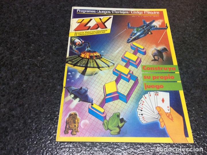 REVISTA ZX Nº 6 - MAYO 1984 - VIDEOJUEGOS ORDENADORES SINCLAIR SPECTRUM (Juguetes - Catálogos y Revistas de Juguetes)