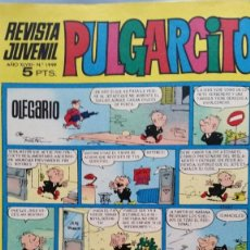 Juguetes antiguos: ANUNCIO DESFILE DE FAMOSAS EN TEBEO PULGARCITO DEL AÑO 1969. Lote 98074547