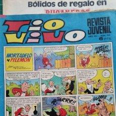 Juguetes antiguos: ANUNCIOS DE PANSY. BABY PIS Y GARAGE AIRGAM EN TEBEO TIOVIVO AÑO 1971. Lote 98075327
