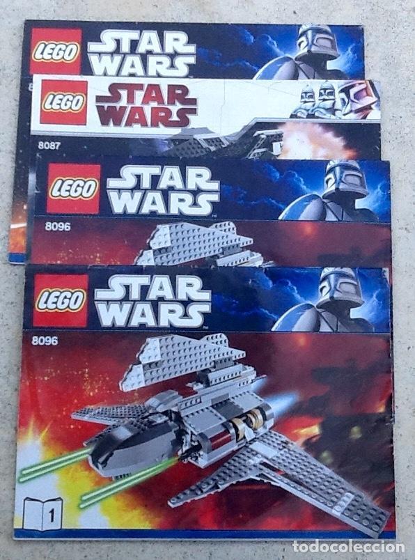 STAR WARS. CATALOGOS LEGO, ENVIO INCLUIDO EN EL PRECIO. (Juguetes - Catálogos y Revistas de Juguetes)