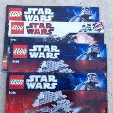Juguetes antiguos: STAR WARS. CATALOGOS LEGO, ENVIO INCLUIDO EN EL PRECIO.. Lote 98490863