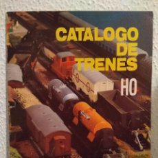 Juguetes antiguos: CATÁLOGO DE TRENES H0 DE JYESA. Lote 98810143