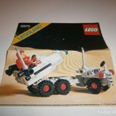 Juguetes antiguos: CATALOGO LEGO - INSTRUCCIONES MONTAJE 6870 - LEGOLAND - 1981 - 120198. Lote 99902247