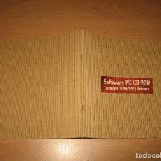 Juguetes antiguos: CATALOGO SOFTWARE PC CD-ROM ELECTRONIC ARTS 1996 - 1997. Lote 100058843