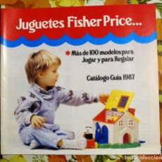 Juguetes antiguos: CATÁLOGO FISHER PRICE 1987. Lote 100765623