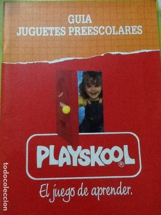 CATALOGO JUGUETES PLAYSKOOL 1991 (Juguetes - Catálogos y Revistas de Juguetes)