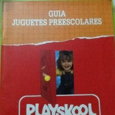 Juguetes antiguos: CATALOGO JUGUETES PLAYSKOOL 1991. Lote 100771471