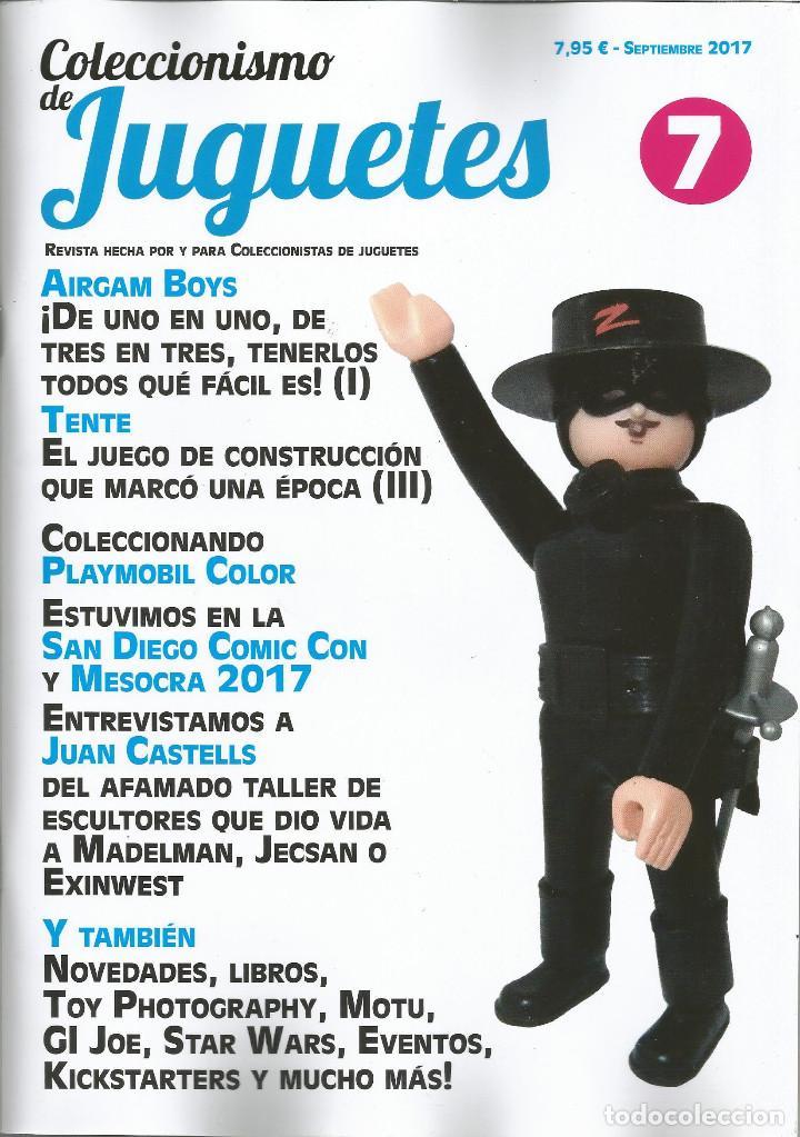 COLECCIONISMO DE JUGUETES NÚMERO 7 – SEPTIEMBRE 2017 (Juguetes - Catálogos y Revistas de Juguetes)