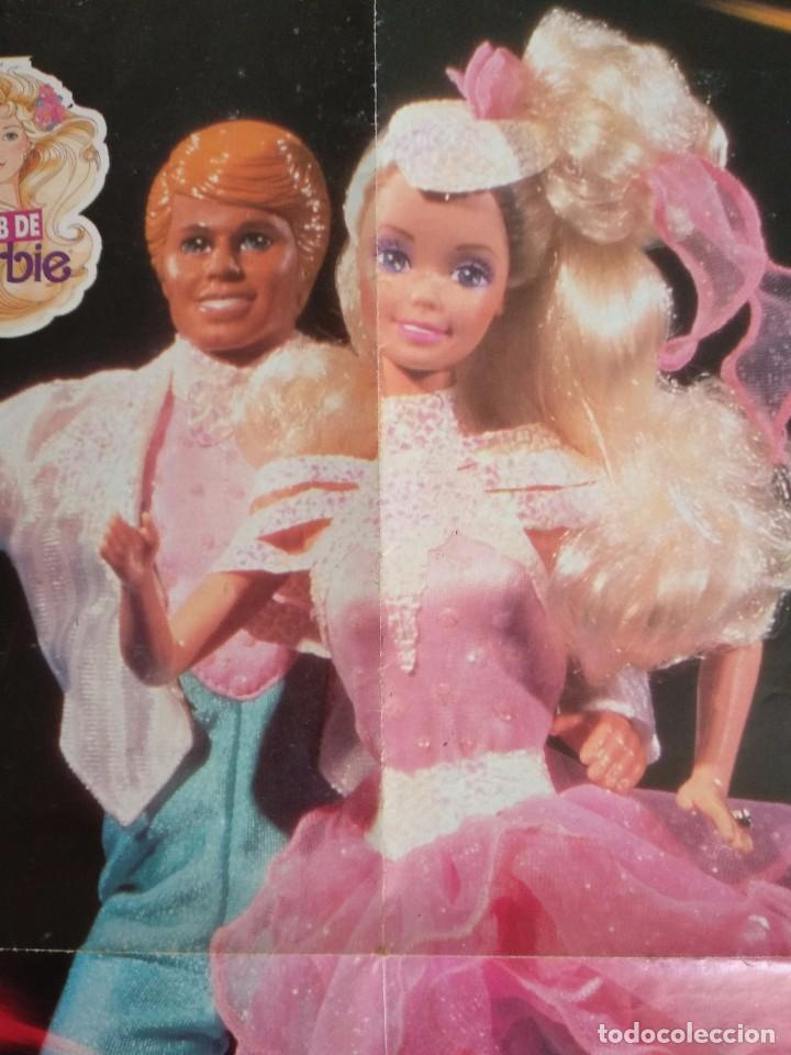 Juguetes antiguos: POSTER BARBIE HOLIDAY ON ICE DEL CLUB DE BARBIE 1989 - Foto 2 - 101756831