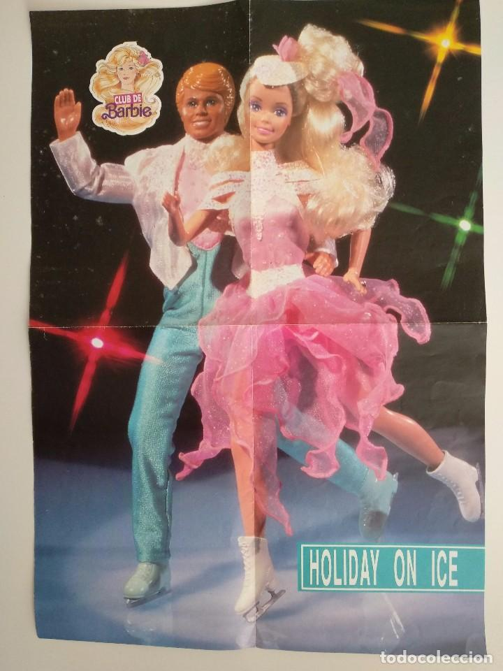 Juguetes antiguos: POSTER BARBIE HOLIDAY ON ICE DEL CLUB DE BARBIE 1989 - Foto 3 - 101756831