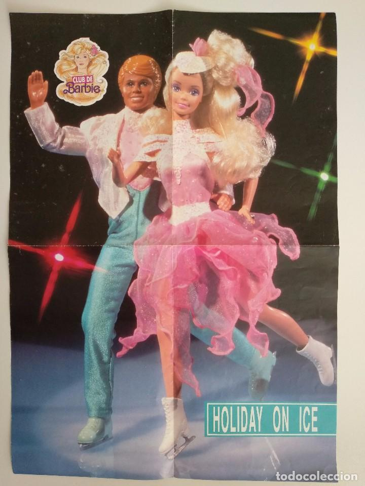 Juguetes antiguos: POSTER BARBIE HOLIDAY ON ICE DEL CLUB DE BARBIE 1989 - Foto 4 - 101756831