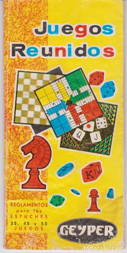 Juegos Reunidos Geyper Reglamentos Estuches De Comprar Catalogos