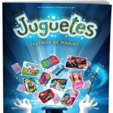 Juguetes antiguos: CATÁLOGO DE JUGUETES DE HIPERCOR. NAVIDAD 2017-2018. 180 PÁGINAS. NUEVO.. Lote 105330451