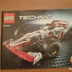 Juguetes antiguos: CATALAGO TECHNIC - LEGO 42000 Nº 3. Lote 105704863