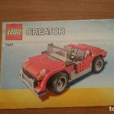 Juguetes antiguos: CATALAGO - LEGO CREATOR .7347. Lote 105705263