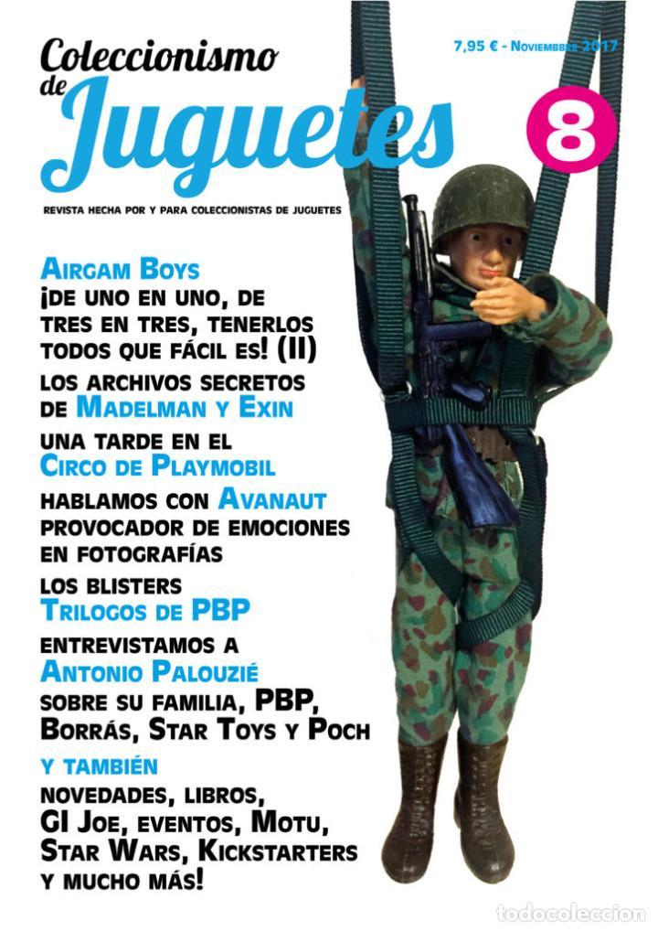 REVISTA COLECCIONISMO DE JUGUETES NÚMERO 8 – NOVIEMBRE 2017 (Juguetes - Catálogos y Revistas de Juguetes)