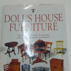 Juguetes antiguos: LIBRO DOLL´S HOUSE FURNITURE. MARGARET TOWNER. Lote 107385103