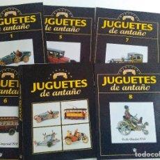 Juguetes antiguos: FASCICULOS JUGUETES DE ANTAÑO COLECCION PAYA RBA 2004. Lote 107385199