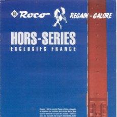 Jouets Anciens: CATÁLOGO ROCO 1993 REGAIN-GALORE HORS SERIES EXCLUSIFS FRANCE - EN FRANCÉS. Lote 107421915