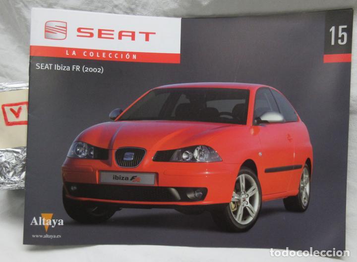 Seat la colección , de Altaya Fasciculo Nº 15 Seat Ibiza FR 2002 segunda mano