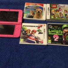 Juguetes antiguos: NINTENDO 3DS-XXL MÁS EXTRAS JUNTO CÁMARA CANON IXUS 50 CON TODOS EXTRAS. PERFECTA!. Lote 107176019