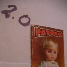 Juguetes antiguos: CATALOGO MUÑECO PATOSO - ENVIO INCLUIDO A ESPAÑA. Lote 108313175