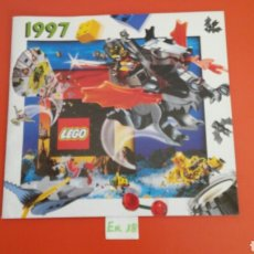 Juguetes antiguos: CATÁLOGO JUGUETES LEGO 1997.SIN USO.. Lote 270959148