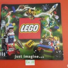 Juguetes antiguos: CATÁLOGO JUGUETES LEGO 1999.SIN USO.. Lote 270959258