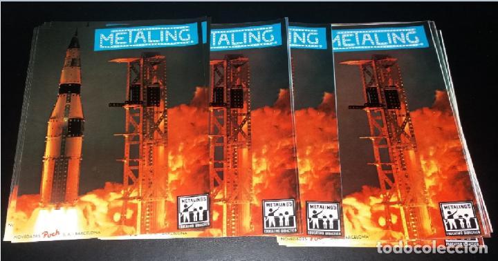 PUBLICIDAD. METALING DE POCH, AÑOS 70, LOTE DE 50 HOJAS PUBLICITARIAS IGUALES (Juguetes - Catálogos y Revistas de Juguetes)