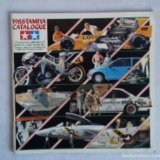 Juguetes antiguos: CATALOGO TAMIYA 1988, MAQUETAS, MODELOS A ESCALA. CCAVENDE. Lote 109372007