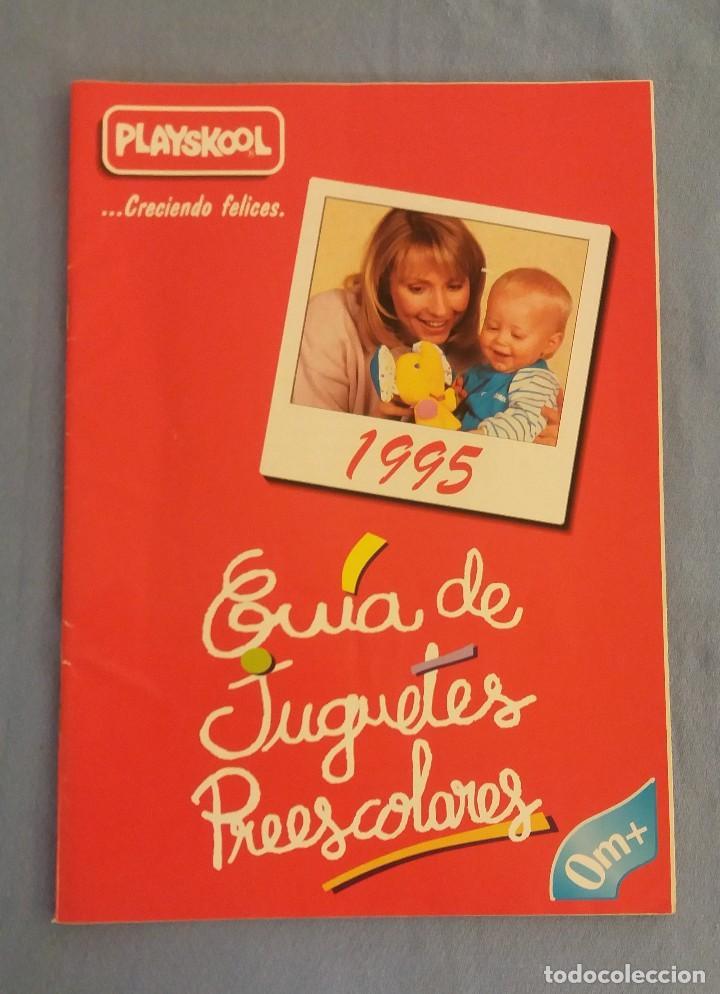 ANTIGUO CATALOGO DE JUGUETES PLAYSKOOL EXCELENTE ESTADO ORIGINAL (Juguetes - Catálogos y Revistas de Juguetes)