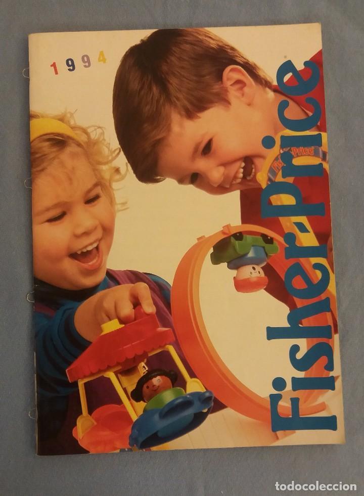 ANTIGUO CATALOGO DE JUGUETES FISHER PRICE AÑO 1994 EXCELENTE ESTADO ORIGINAL (Juguetes - Catálogos y Revistas de Juguetes)