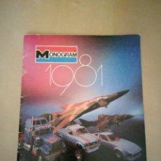 Juguetes antiguos: CATÁLOGO MONOGRAM 1981. Lote 109446427