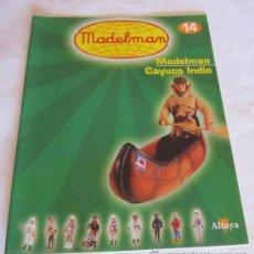 Juguetes antiguos: CATÁLOGO / FASCÍCULO MADELMAN ALTAYA Nº 14, CAYUCO INDIO.. Lote 109496884