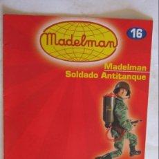 Juguetes antiguos: CATÁLOGO / FASCÍCULO MADELMAN ALTAYA Nº 16, SOLDADO ANTITANQUE.. Lote 109500494